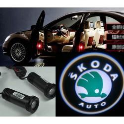 Proyectores de LEDs Skoda (4 generación - 10W)