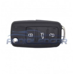 Housing for key Volkswagen 3 buttons (2009-2014)