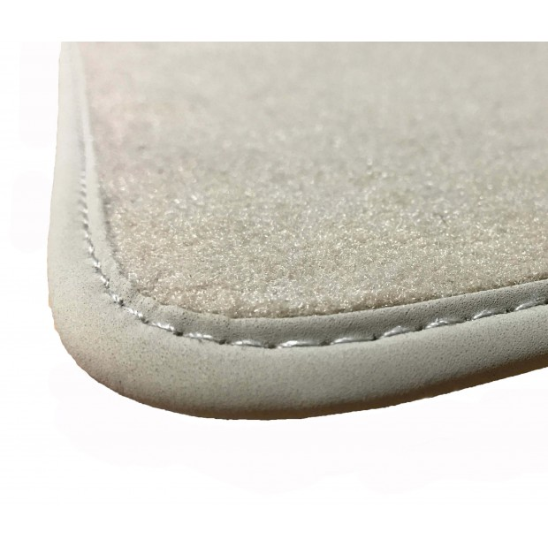Fußmatten Beige für Peugeot 206 PREMIUM