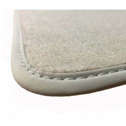 Fußmatten Beige für Peugeot 407 PREMIUM