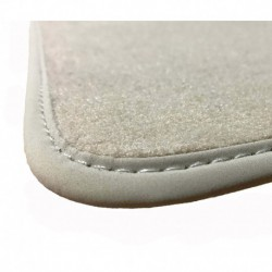 Floor mats, Beige Renault Clio III 2005-2012 PREMIUM