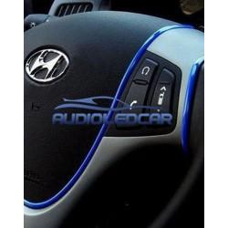 BLUE stripe GTI style