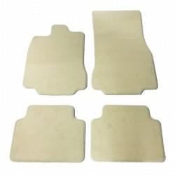Floor mats, Beige Renault megane III 07 - PREMIUM