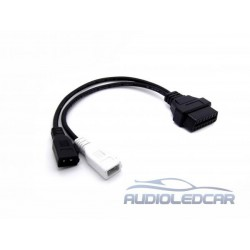 Adapter diagnosis 2x2 to OBDII for VAG group