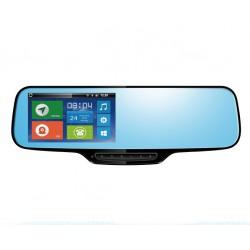 Retrovisor Android: localizador GPS + navi + bluetooth + cámara