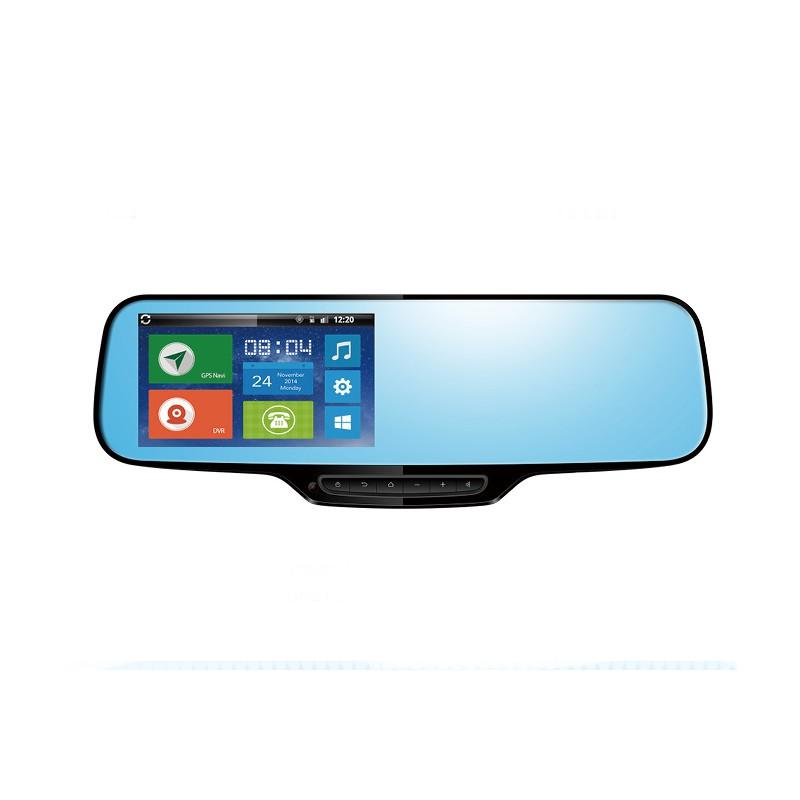 Rearview mirror Android: locator GPS + navi + bluetooth + camera