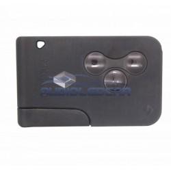 Carcasa tarjeta para llaves Renault con logo