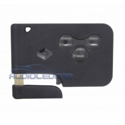 Casing card key Renault with logo