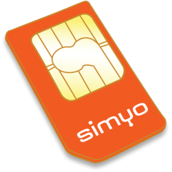 SIM card for GPS locator with 10€ credit (contract or prepayment without stay)