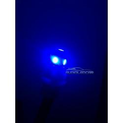 Bulbo claro do diodo EMISSOR de luz AZUL w5w / t10 - TIPO 27