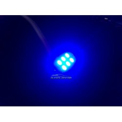Lampadine a LED BLU c5w / festone 36, 39, 41 millimetri - TIPO 28