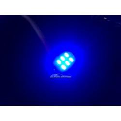 LED bulbs BLUE c5w / festoon 36, 39, 41mm - TYPE 28