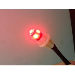 Lâmpada LED VERMELHO w5w / t10 - TIPO 29