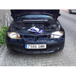 Kit diodo EMISSOR de luz H4 para carro e moto (branco puro)