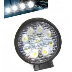 Faretto a LED 27W per auto, camion, quad o moto