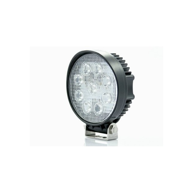 LED spotlight 27W for car, truck, quad or bike