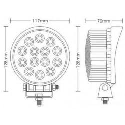 LED-spot-40W für auto, lkw, quad oder motorrad