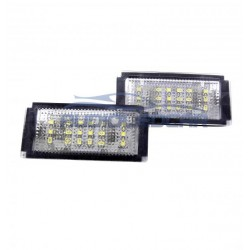 Painéis LED de matrícula Mini Cooper (2001-2006)