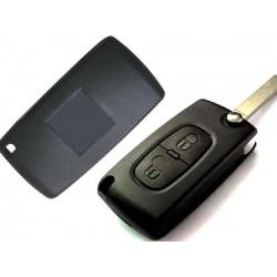 Alloggiamento per chiave Citroen 2 pulsanti
