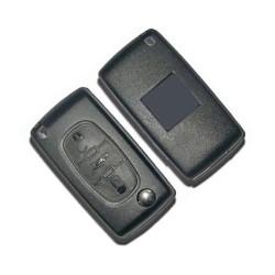 Logement pour clé 3 boutons Citroen