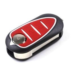 Le logement de clé Alpha Romeo 3 boutons de Type 3
