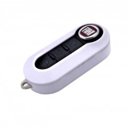 Housing for key Fiat WHITE
