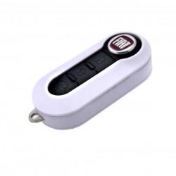 Logement pour clé Fiat BLANC