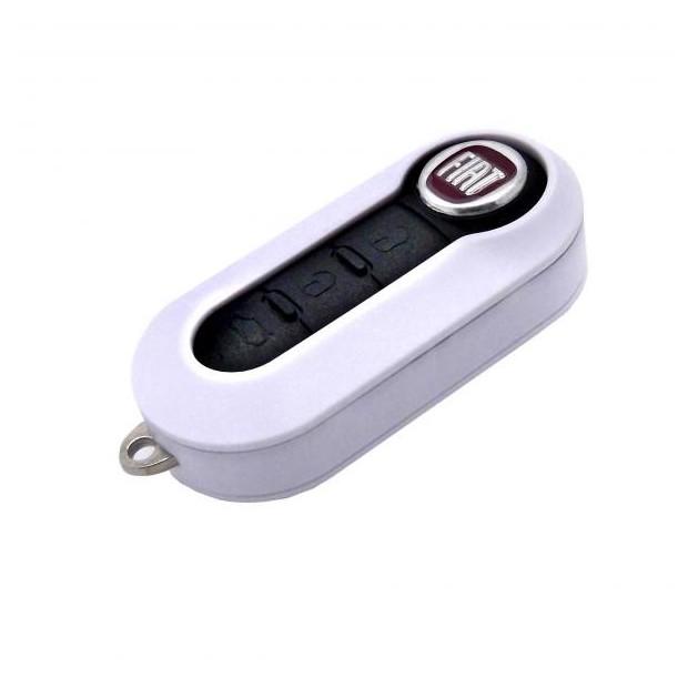 Gehäuse für schlüssel Fiat WEIß