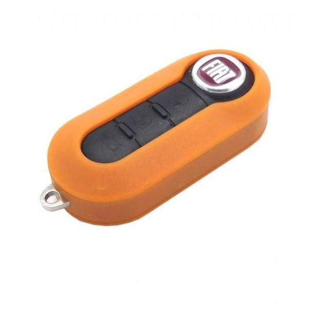 Capa para chave Fiat LARANJA