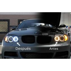 Kit de yeux d'ange LED 40W pour BMW 2007/2011 - Type 7