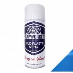 La peinture de jet de vinyle liquide BLEU SCHTROUMPF MATE