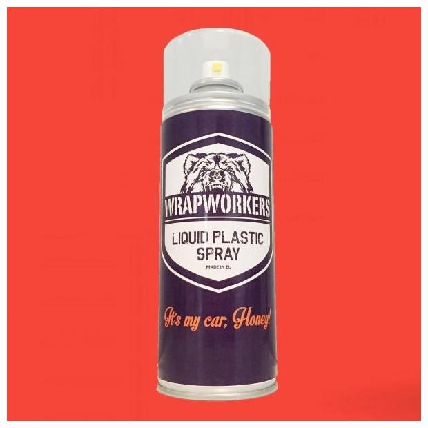 Spray paint vinyl RED liquid FLUOR