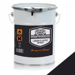 Pintura de vinil líquido Preto Fosco (4 litros)