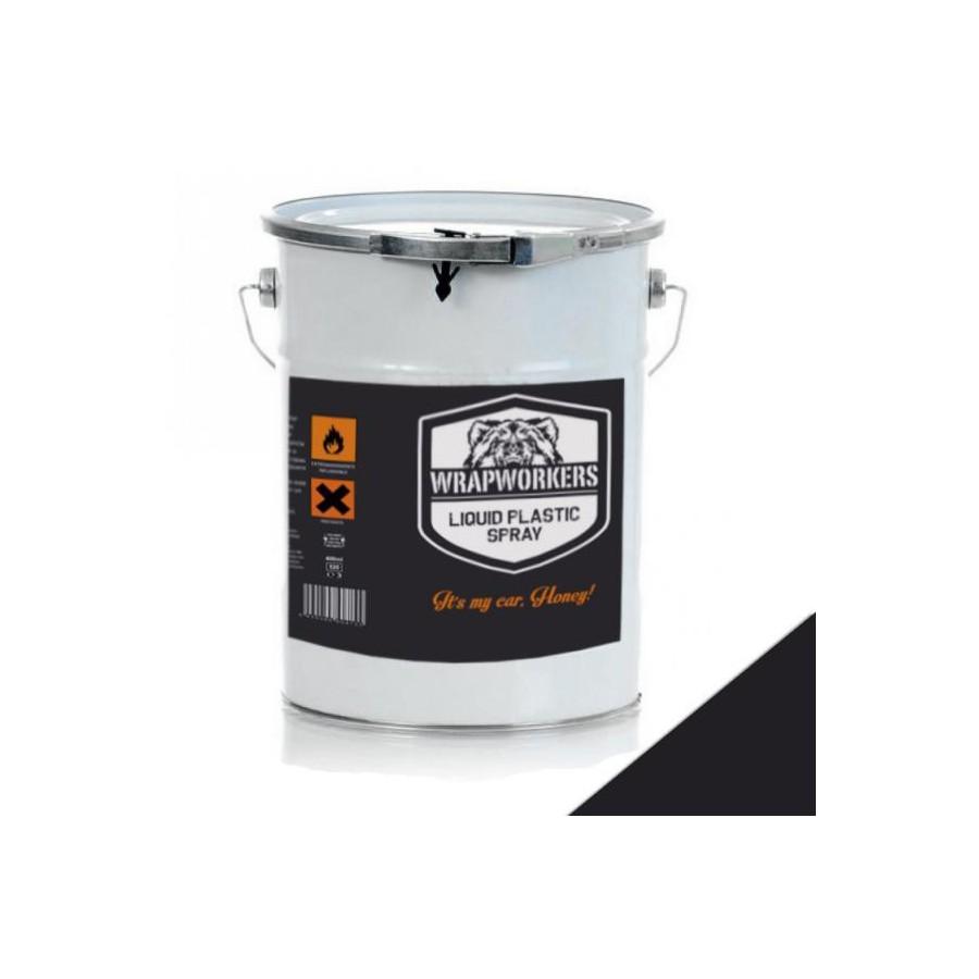 pintura de vinilo l quido negro mate 4 litros vinilo
