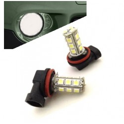 Lumières LED H8 (look xénon)