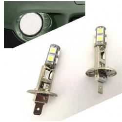 Lumières LED H1 (look xénon)