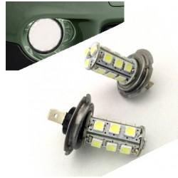 Lâmpadas de LED H7 (look xenon)