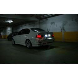 Painéis LED de matricula BMW E46, 2 portas 2004-2006