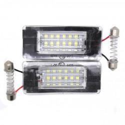 Plafones de matrícula LED Mini Cooper (2006-2010)
