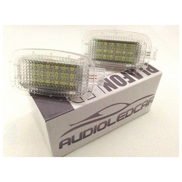 Plafones LED de pies y puertas Smart Fortwo 2D (2008-2012)