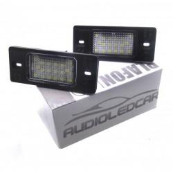 Plafones LED de matrícula Porsche Cayenne 2002-2010