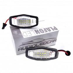 Painéis LED de matrícula para HONDA Civic Acura Accord Legend City Odyssey