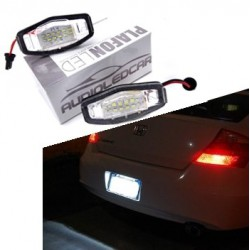 Plafones LED de matrícula para HONDA Civic Acura Accord Legend City Odyssey