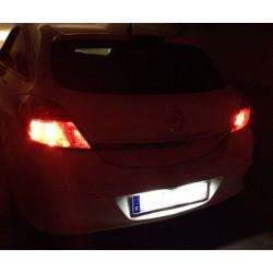 Del soffitto del LED lezioni Opel Astra H (2004-2009)