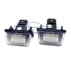 La retombée de plafond de LED enregistrement Peugeot - Type 1