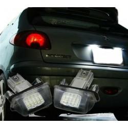 Plafones LED de matrícula Peugeot - Tipo 1