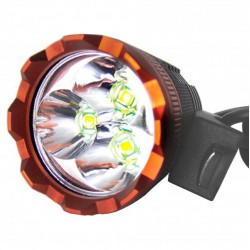 Anteriore e Focus bike LED 3800 LM - Tipo 5