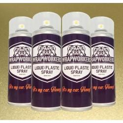 Vernice gomma: 4 spray ORO Metallizzato
