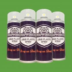 Pintura para llantas: 4 spray VERDE MATE