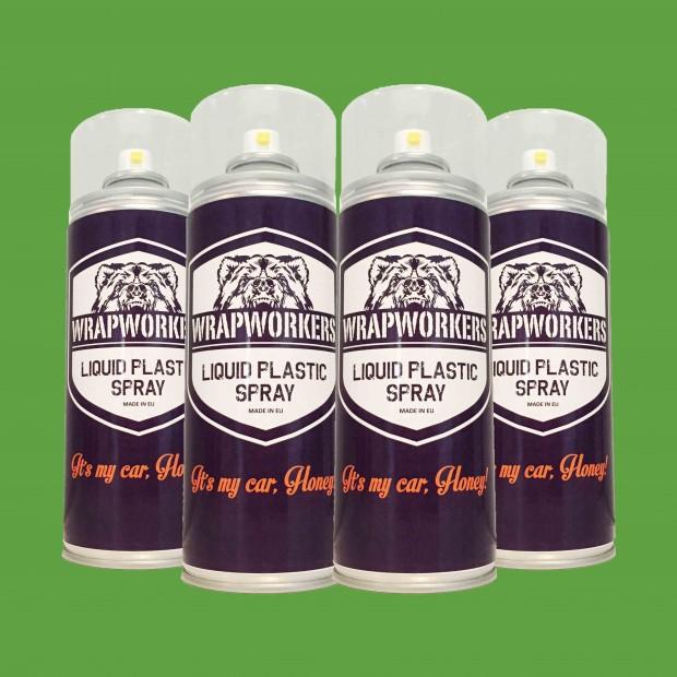 Paint tire: 4 spray MATTE GREEN